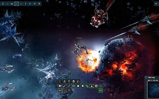 Weltraumspiele Online