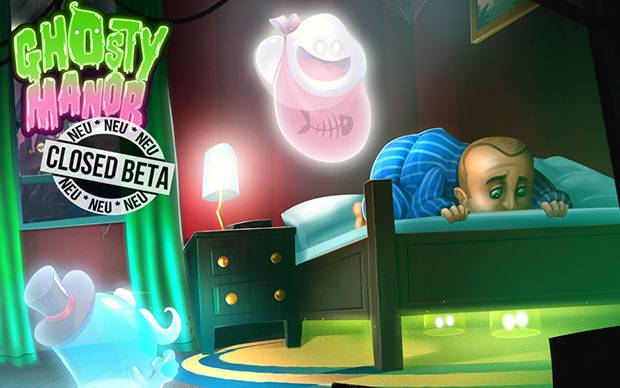 Ghosty Manor - Geister-Browsergame startet in Closed Beta