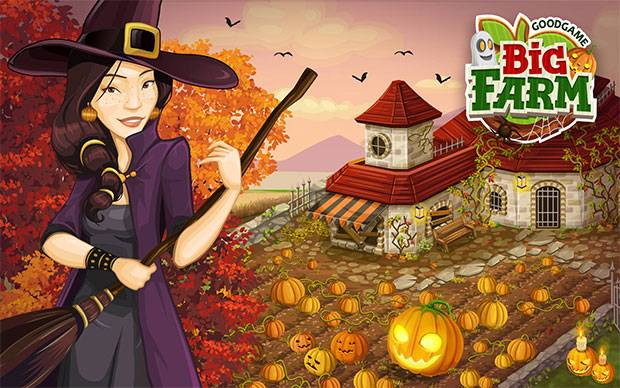 Goodgame Big Farm - Halloween Event 2014