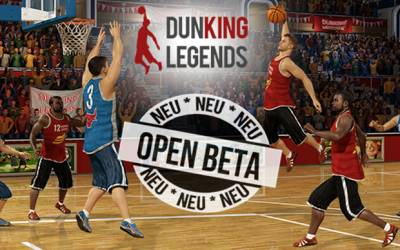 Dunking Legends - Basketball Browsergame startet in Open Beta