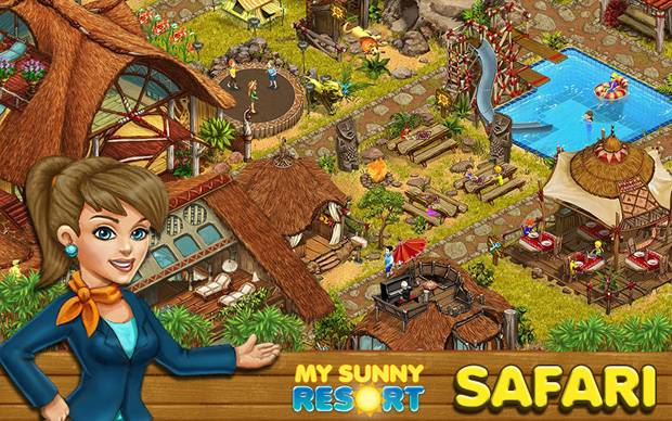 My Sunny Resort - Safari-Resort gestartet
