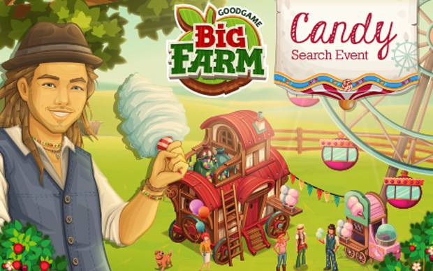 Big Farm - Farmerfest & Candy Search Event
