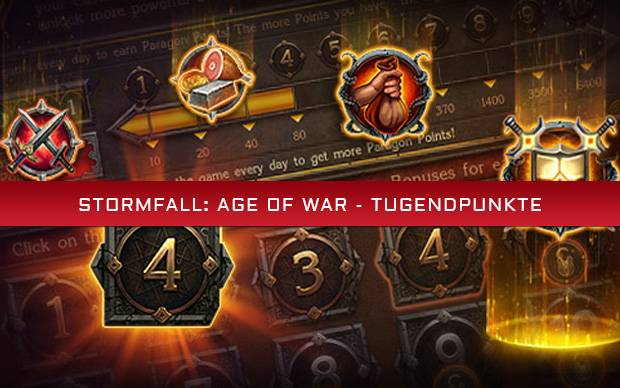 Stormfall: Age of War - Tugendpunkte
