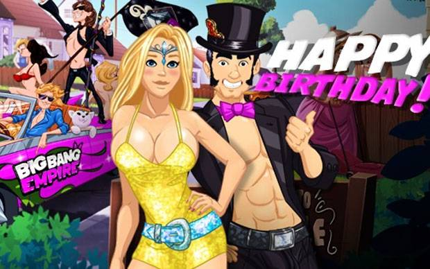 Big Bang Empire - 1. Geburtstag mit Special- Booster