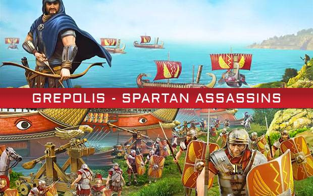 Grepolis - Neues Event: Spartan Assassins