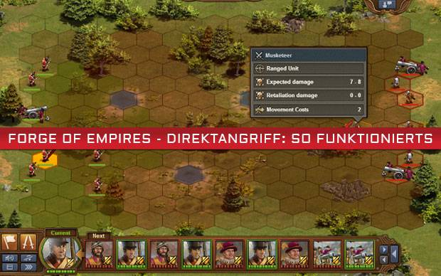Forge of Empires - Direktangriff: So funktionierts