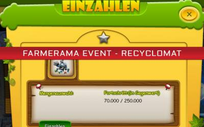 Farmerama Event - Recyclomat