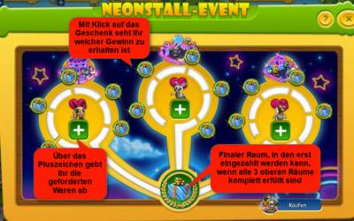Farmerama - Neonstall-Event