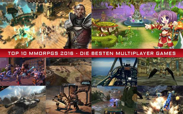 Top 10 MMORPGs 2016 - Die besten Multiplayer Games