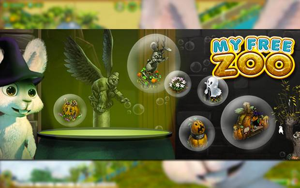 My Free Zoo - Dekos zum Halloween-Event