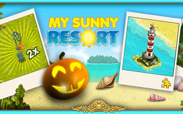 My Sunny Resort- Grusel-Party zu Halloween