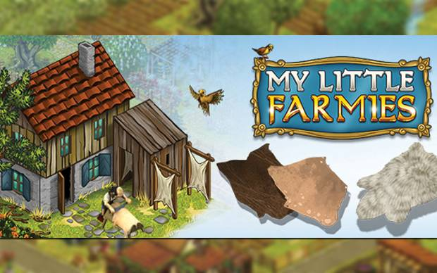 My Little Farmies - Produziere Leder in der Gerberei