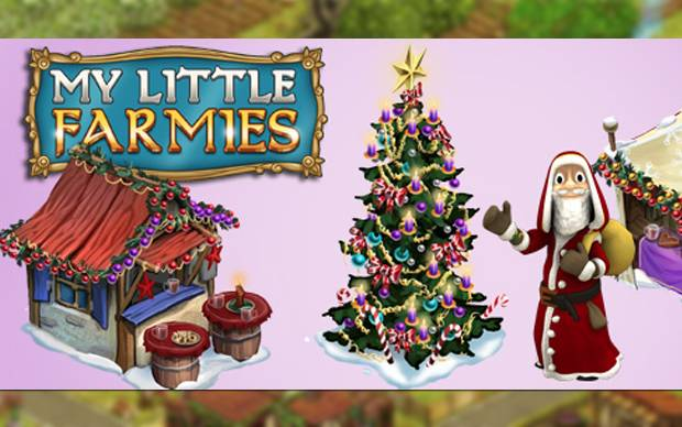 My Little Farmies - Weihnachtliche Deko-Items