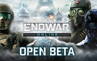 Endwar Online gestartet - Tom Clancy im Browser