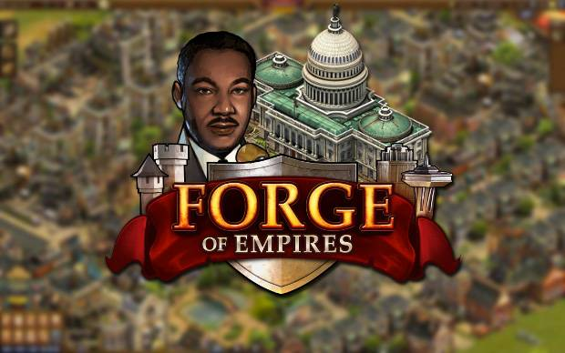 Forge of Empires - Historisches Event: Martin Luther King