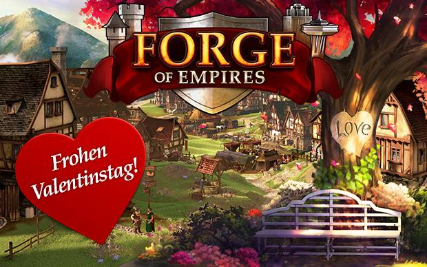 Forge of Empires - Valentinstags-Event 2016