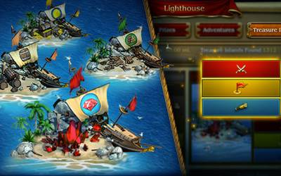 Pirates: Tides of Fortune - Schatzinseln: So funktionierts
