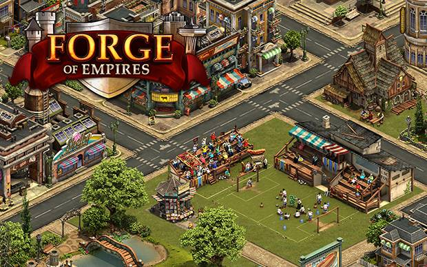 Forge of Empires - 750 In-Game Diamanten gratis im Wert von 10 Euro