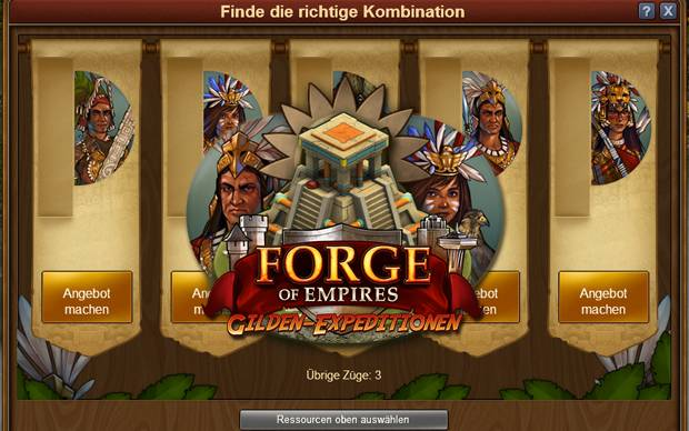 Forge of Empires - Handelsspiel für die Gilden-Expeditionen