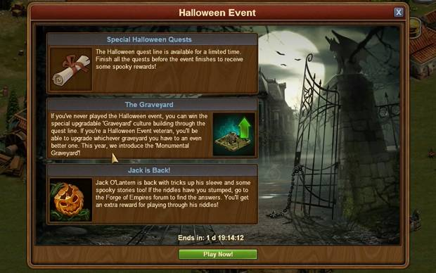 Forge of Empires - Halloween-Event 2016: Das erwartet dich