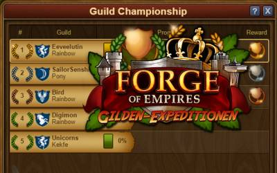 Forge of Empires - Gilden-Meisterschaften: So funktionierts