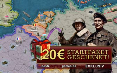 Call of War - Starterpaket: Gratis Items im Wert von 20 Euro