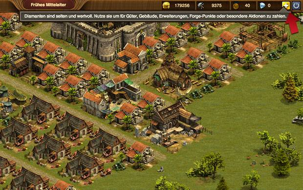 Forge of Empires Diamanten kaufen