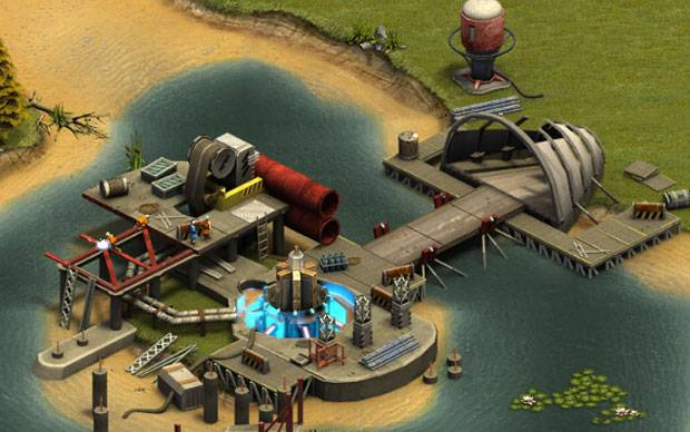 Forge of Empires Hafen
