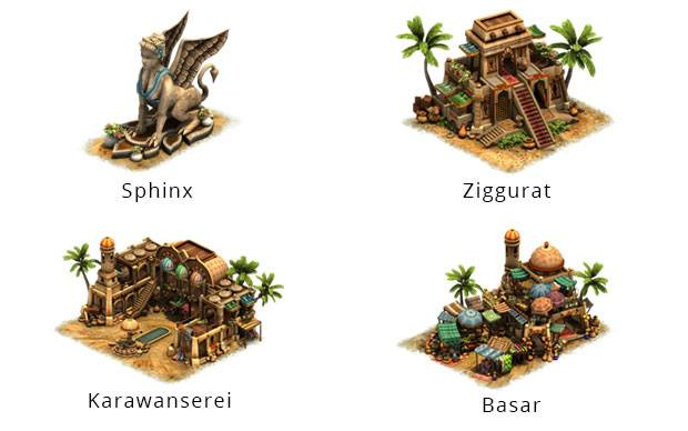 Forge of Empires Sommer Event 2015 Gebäude