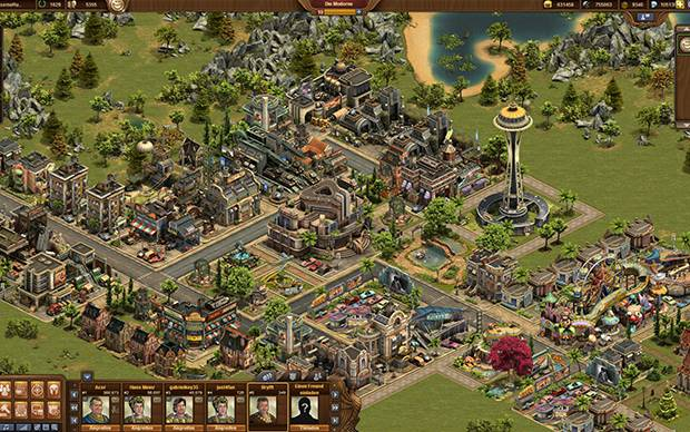 Forge of Empires Stadt Moderne
