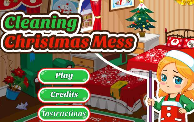 Cleaning Christmas Mess